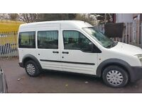 FORD TRANSIT TOURNEO CONNECT MOBILITY VEHICLE 12. MONTHS MOT, WHEELCHAIR RAMP.