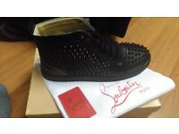 New Men's Black Louboutin's - Size 9