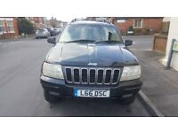 jeep grand cherokee ltd t only 94000miles 3.1turbo diesel new cambelt