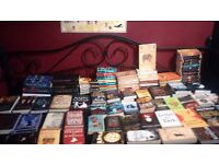 Large lot of fiction books.