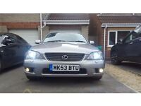 Lexus IS200 **IMMACULATE CONDITION**