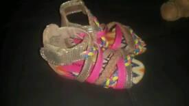 Beautiful children shoes