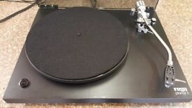 Rega Planar 3 Turntable RB200 Tonearm with New Goldring Elektra Cartridge and Isokinetic Drive Belt