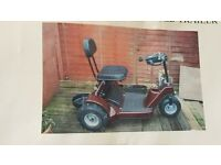 G1 golf buggy +adapted trailer