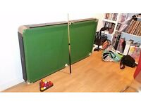 Pool/snooker table 6x3