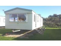 static caravan holiday home for sale sited on sunnydale holiday park near mablethorpe & skegness.
