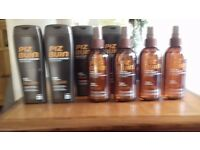 4 Bottles of PIZ BUIN Tan and protect tan accelerating oil spray, non greasy, 30spf.