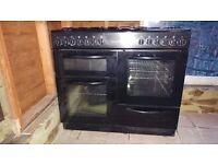 100cm Cookworks Range Cooker. Double oven.