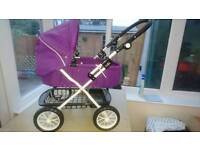 Silver Cross style dolls pram for sale