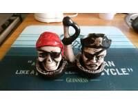 Pirate salt and pepper pot