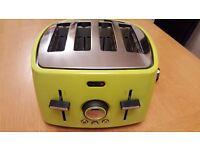 Green Breville 4 Slice Toaster