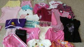 Girls tops, skirt, dress, cardigan, jumper