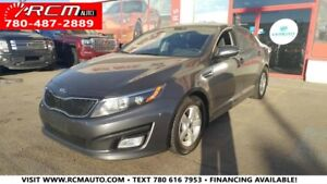 2015 Kia Optima LX 4 DOOR CAR - FINANCING AVAILABLE CALL NOW!