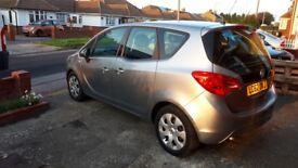 Vauxhall Meriva Exclusiv AC CDTI AUTO, LOW MILAGE, FULL SERVICE History, RECENT MOT- no advisory
