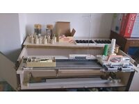 knitting machine deluxe knit master