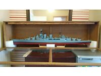 HMS Hood Scaled Replica Model Boat