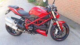 Ducati streetfighter 848 *low miles* speed triple z1000 fz1