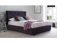 King size bed brand new in box with high quality matress