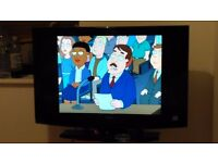 Hitachi 32inch LCD TV, HD ready, freeview with working remote