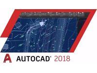 AutoCAD 2018 for Windows / Macbook / Imac