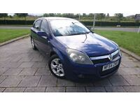 NICE BLUE VAUXHALL ASTRA SXI 1.7 TURBODIESEL WITH ALLOYS AND GOOD TYRES , MOT DECEMBER