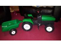 Tractor and trailer (new)
