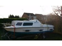 """Microplus 501 Fibreglass 18Ft """"fishing boat and trailer"""" *FAST SALE*"""