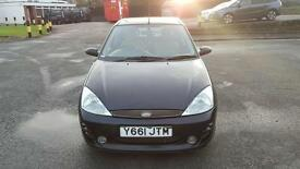Ford Focus ZEETEC collection 1.8 with beige leather interior 1 year MOT