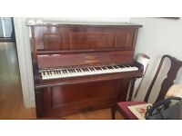 Brasted English Upright Piano