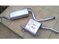 FORD FOCUS 2002 EXHAUST BACK AND MIDDLE BOX, VGC.