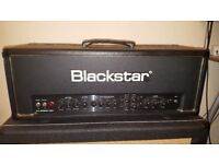 Blackstar HT Stage 100 Head, 100 watt valve amp with Footswitch and cover