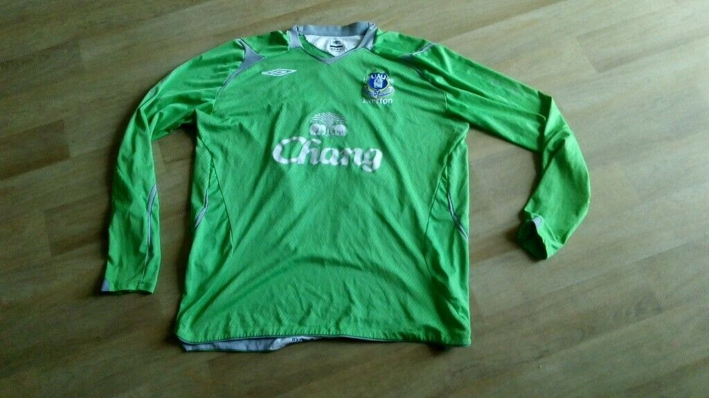 new products c2cce 7bf44 everton goalkeeper shirt umbro chang XL 24 howard | in Chesterfield,  Derbyshire | Gumtree