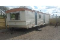 two bedroom mobile home static full varnished for rent in the romford area £180 per week