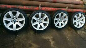 "Bmw alloy wheels 17"" 5x120"
