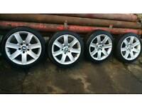 "Bmw alloy wheels 17"" 5x120"