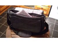 MOTHERCARE BRAND BABY CHANGING BAG WITH CHANGING MAT