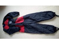 Otter - Fleecy dry suit liner- medium - fits 36-38 chest + fleece booties size 5-8