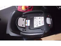 Car seat with isofix base