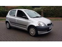Toyota yaris 2000 x reg 5 door immaculate in out fsh like new