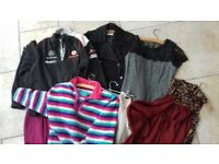 Nine Items of Women's Clothing Some With Tags Including F1 Genuine Fleece Perfect Clean Condition