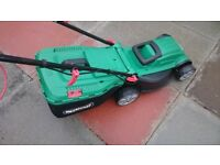 QUALCAST 1400W ELECTRIC ROTARY MOWER (LIKE NEW)