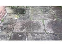 York stone flags 170 yards
