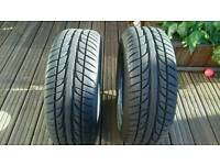 Two nearly new Dayton d320 tyres size 205, 55, R16 v91
