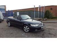 2001 Saab 9-3 2.0 Turbo SE Convertible Leather1 Former FSH Soft Top Cabriolet 93 9 3 900 Convertable