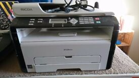 RICOH SP 204 SFNw MONOCHROME LASER PRINTER AND SCANNER