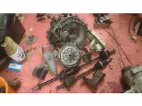 BMW Mini r50 midlands gearbox 65k and parts