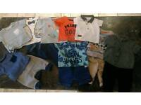 Large bundle baby boys summer clothes