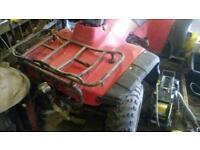 Honda Big Red quad, spares or repairs