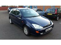2000 FORD FOCUS PETROL MANUAL WITH 1 YEAR MOT