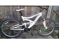 ADULT 26 INCH WHEEL MEN'S MOUNTAIN BIKE / NO OFFERS NO TIME WASTER PLEASE